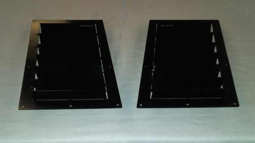 Race Louver Lexus RT trim mid pair car hood extractor is designed for street, high performance driving and track duty.