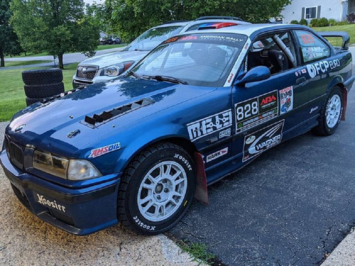 Race Louvers BMW E36 RX extreme trim side pair racing heat extractor is designed for high performance driving, auto cross and track duty.
