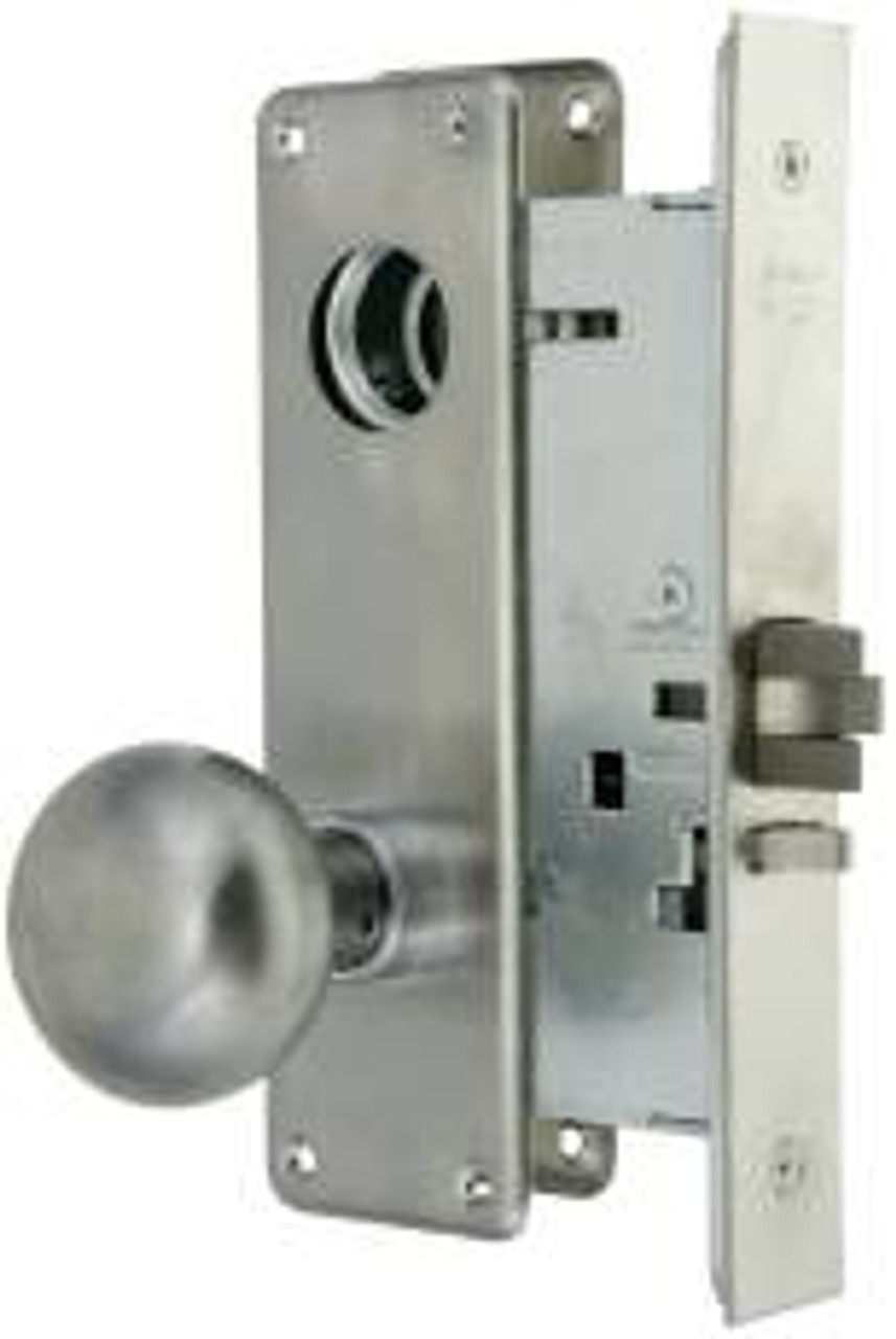 Picture of: Arrow Knob Mortise Entry Lock Am11htg Less Cyl 26d
