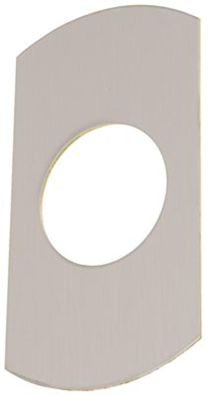 """DOOR PULL PLATE 3-1//2/"""" X 15/"""" INDUSTRIAL ALUMINUM"""