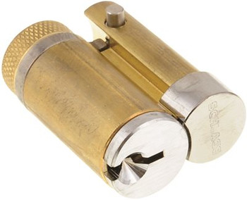 Satin Chrome Finish Series ND Grade 1 Cylindrical Lock Schlage ND53JD ATH 626 Athens Design Full Size Interchangeable Core FSIC Entrance Function
