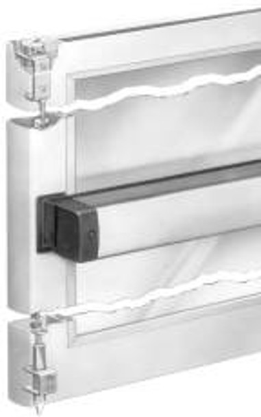 """Adams Rite  Narrow Stile Concealed Vertical Rod Exit Device 8611-36"""""""