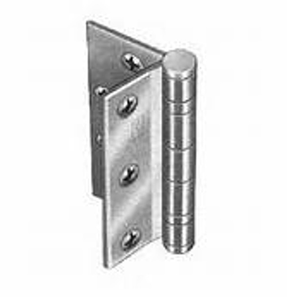 "Hager BB1129 Half Mortise 4-1/2"" Hinge -1.1/2 PR Ball Bearing -Standard Weight  US26D Brushed Chrome"