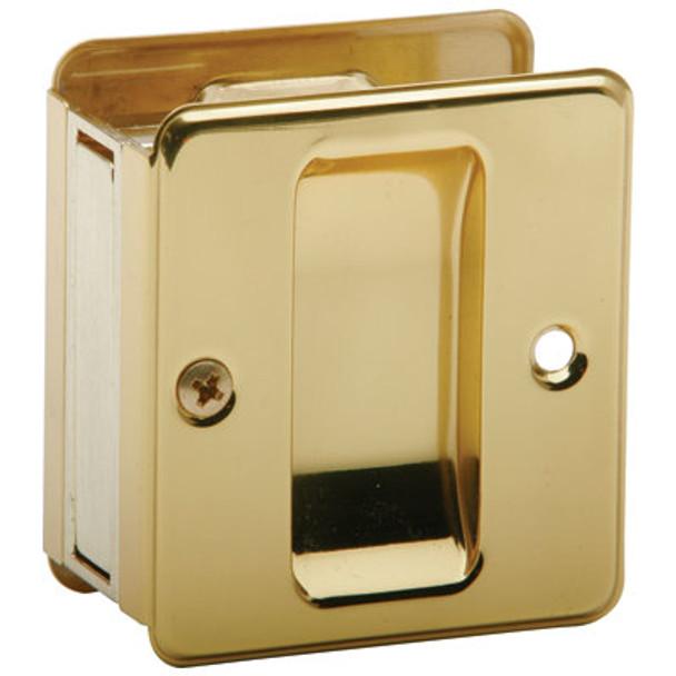 Ives-  991B3 Sliding Door Pull-US-3 Polished Brass Finish