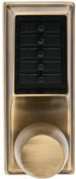 Simplex 10113 Series Push Button Standard  Access Control Polished Brass