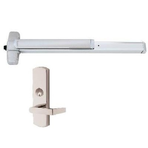 Von Duprin 98/99L-NL (LEVER-NIGHT LATCH) Rim Exit Device
