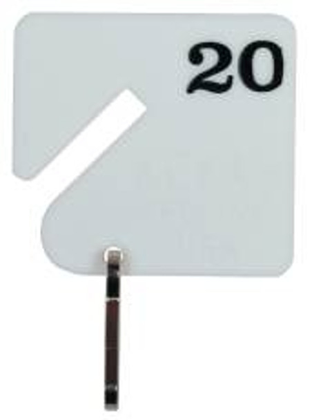 select key tags in Groups of 20-Numberd 1-300