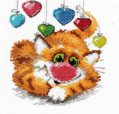 """/""""Hedgehog/"""" Unprinted Needlework Kit 0-02 Alisa"""