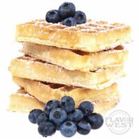 Flavor West Blueberry Graham Waffle