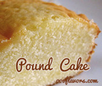 Pound Cake (OOO)