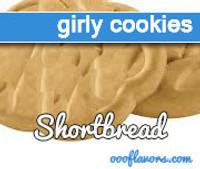 Girly Cookies - Shortbread (OOO)