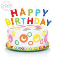 Flavor West Birthday Cake