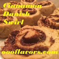 Cinnamon Danish Swirl  (OOO)