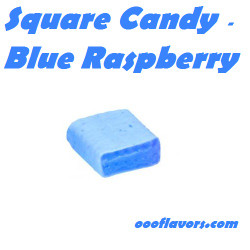 Square Candy - Blue Raspberry (OOO)