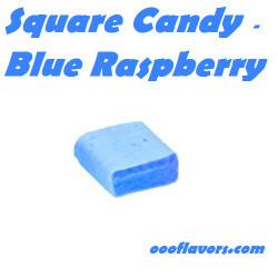 Square Candy - Blue Raspberry (OOO)