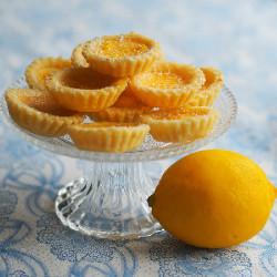 Lemon and Rhubarb Tart (CF)