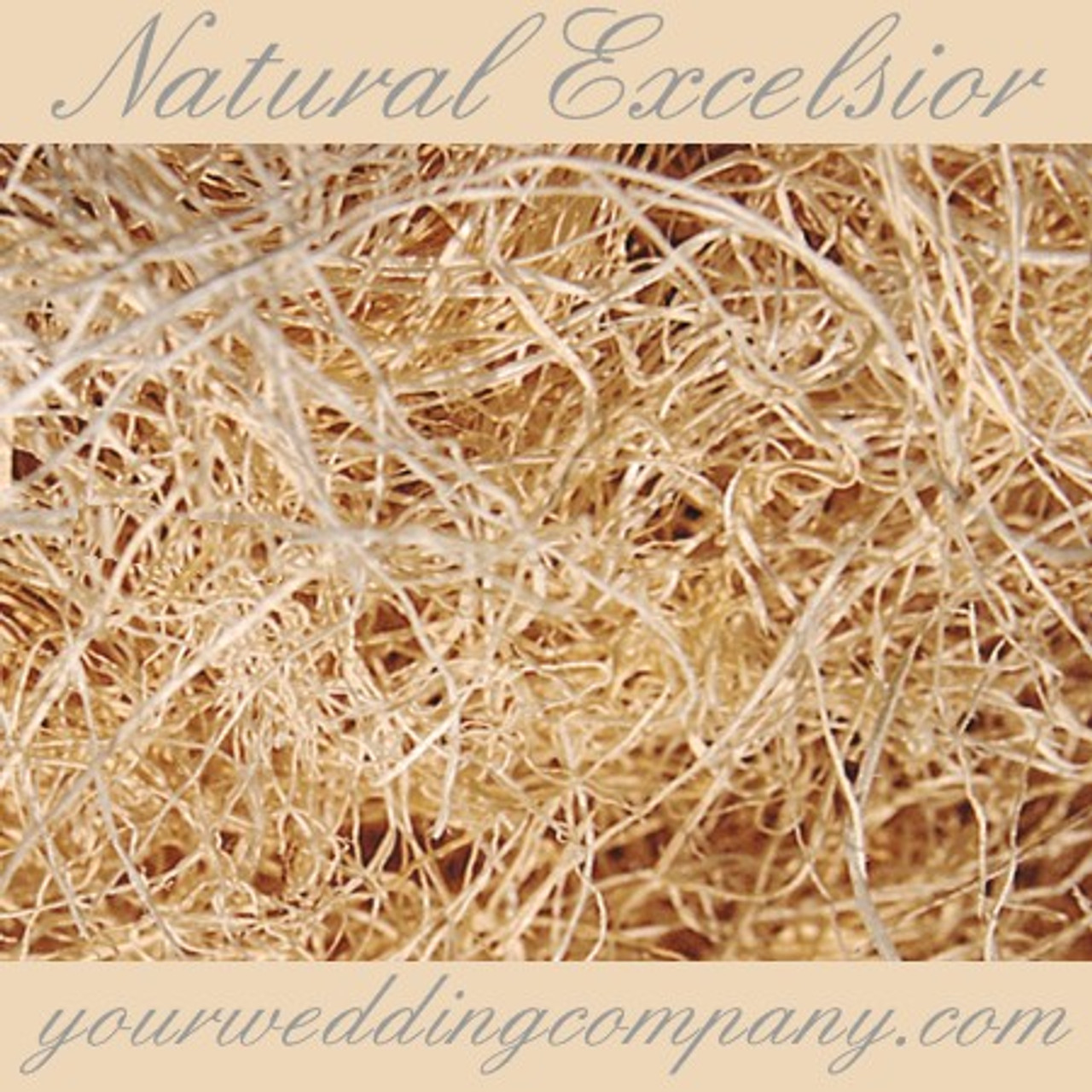 12 Oz Biodegradable Natural Excelsior Moss Floral Arranging and More Package For Crafts