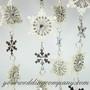Jeweled Snowflake Garland