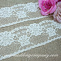 Ivory Floral Lace (3-1/4 in wide)