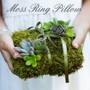 Decorative Moss Mat Sheeting - Ring Pillow
