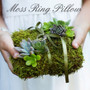 Decorative Moss Mat Sheeting - Ring Pillow