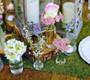 Decorative Moss Mat Sheeting - Wedding Table Decoration