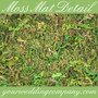 Decorative Moss Mat Sheeting