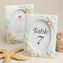 Sea Themed Picture Frame Table Number Holder