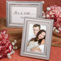 Matte Silver Metal Place Card / Photo Frames