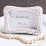 Pearl Place Card Holders | Pearl Photo Frames | Reception Place Card Holders