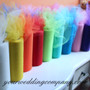 Sheer Tulle Fabric Rolls