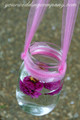 Sheer Tulle Fabric Rolls - Hanging Mason jar