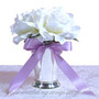 Double Faced Satin Ribbon - Wedding Centerpiece