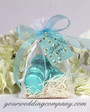 Sheer Wedding Favor Ribbon - Candy Favor