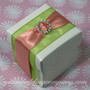 Sheer Favor Ribbon - Wedding Favor Box Decoration
