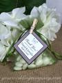 Petite drawstring wedding favor bags - Moss