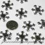 Acrylic Rhinestone Snowflake Accents Confetti Accents