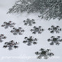 Acrylic Rhinestone Snowflake Table Confetti Accents