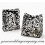 Frosted Scroll Wedding Favor Bags