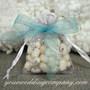 Organza Snowflake Favor Bags - Wedding Favor Packaging