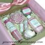 Deluxe Bath & Body Pink Gift Set - Lost Garden