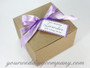 Lavender Bath and Body Spa Gift Set - Gift Packaging