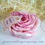 English Rose Flower Soap (6oz)