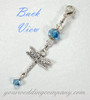 Dragonfly Wedding Bouquet Charm - Something Blue