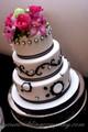 Satin-Edged Chiffon Ribbon - Wedding Cake Decoration