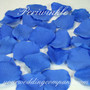 Periwinkle Silk Rose Petals - Wedding Table Decoration
