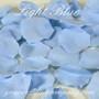 Light Blue Silk Rose Petals