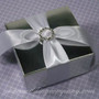Rhinestone Buckle Wedding Favor Accent