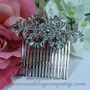 Baguette Crystal Hair Wedding Comb