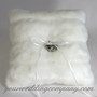 Faux-Mink Ring Pillow